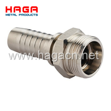 O-Ring Metric Male Flat Seal Hydraulic hose fitting