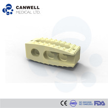 Canwell bone graft Lumbar Fusion PEEK Cage medical osteosynthesis material