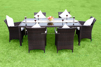 Modern rattan outdoor garden furniture