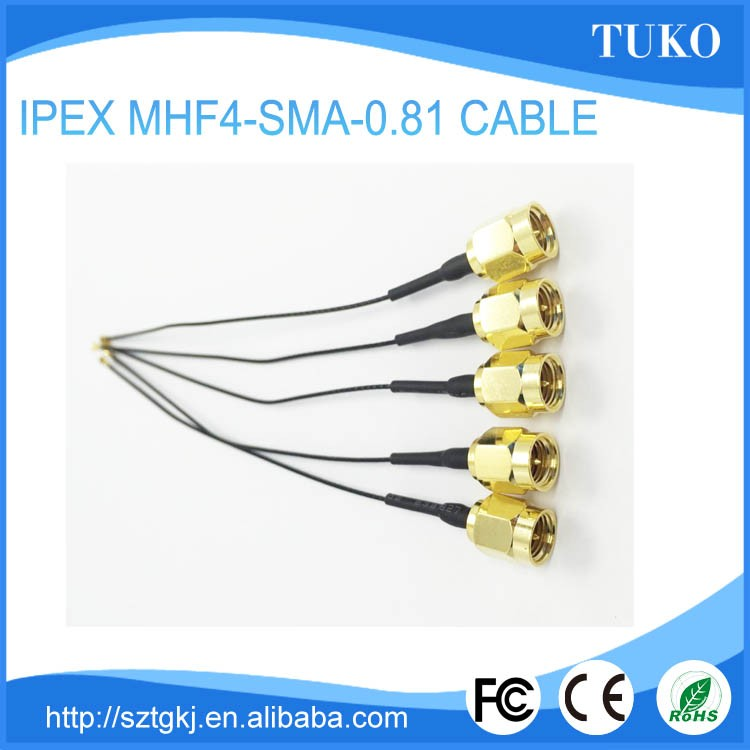Factory supply telecommunication high gain 5Dbi RP-SMA RF Coaxial Cable