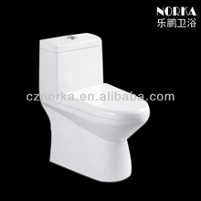 American standard ceramic siphonic S-trap two piece toilet 8040