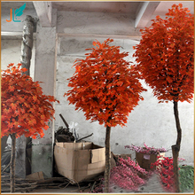 wholesale high simulation artificial red maple tree for decoration