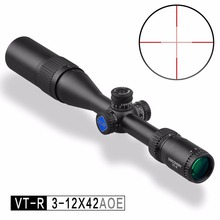 Shooting Accessories Discovery VT-R 3-12X42 AOE PCP Air Gun .223 Rifle Scope Camera Hunting Optics Riflescope