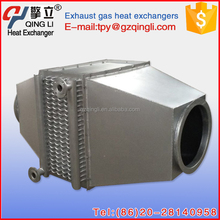 Customized bare tube heat recovery device flue gas air heating condenser