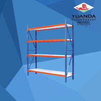 Used light duty warehouse rack beams with a wide selection of designs