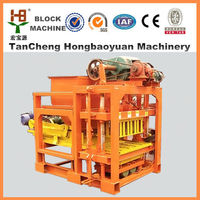 New design! QTJ4-28 brick making machine ,machine for making brick ecological with best quality and lowest price
