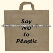 CUSTOM DESIGN PRINTED PROMOTIONAL JUTE BAG