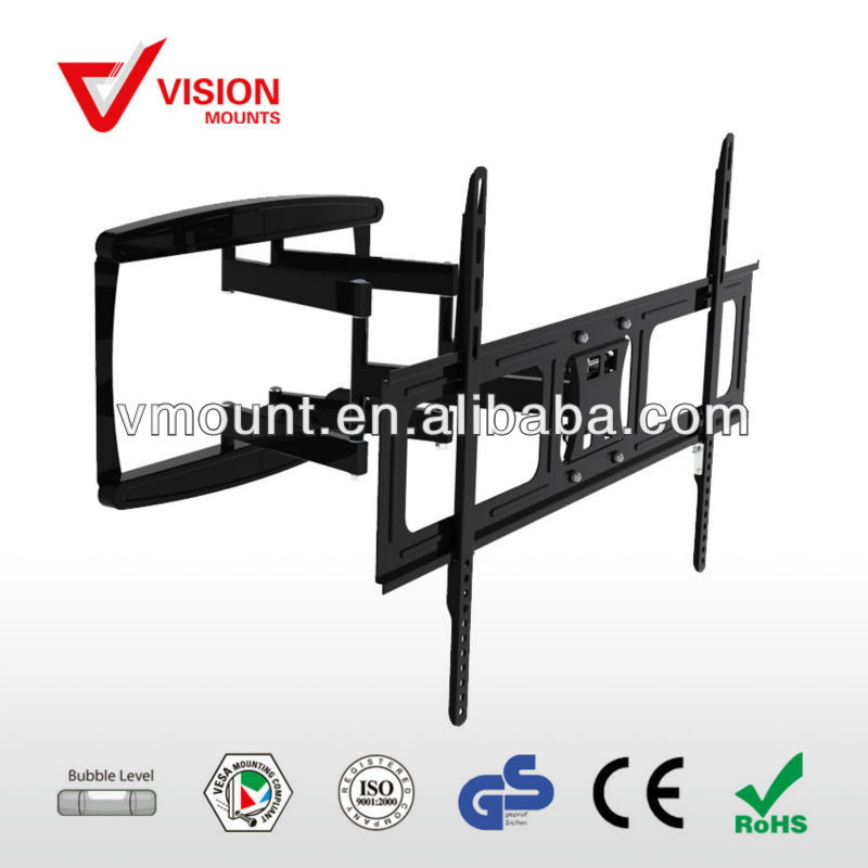 Full Motion Metal low profile tilt Ultra-thin LED LCD TV Bracket for 42-60 screen
