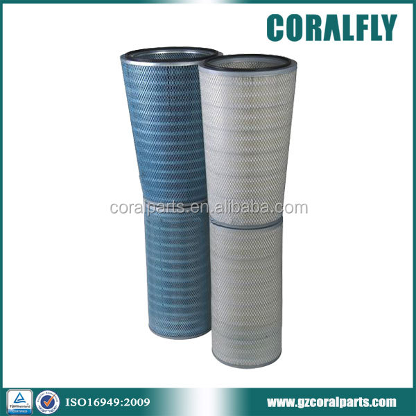 CORALFLY P191280 P191281 HEPA F9 gas turbine air filter