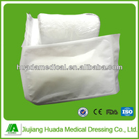Sterile or non-sterile compression medical fluffy gauze bandage supply