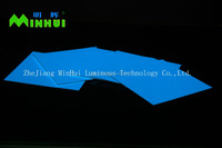 Blue-green luminous sheet/Phosphorescent PVC board