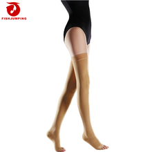 Unisex Medical Thigh High Compression Stocking 20-30 mmhg