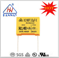 Capacitor MKP X2 Super Capacitor Electrolytic Capacitors For Sale 3.0UF 275V
