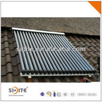 2014 NEW evacuated tube solar collector for swimming pool | solar collector for solar water heater for russian market