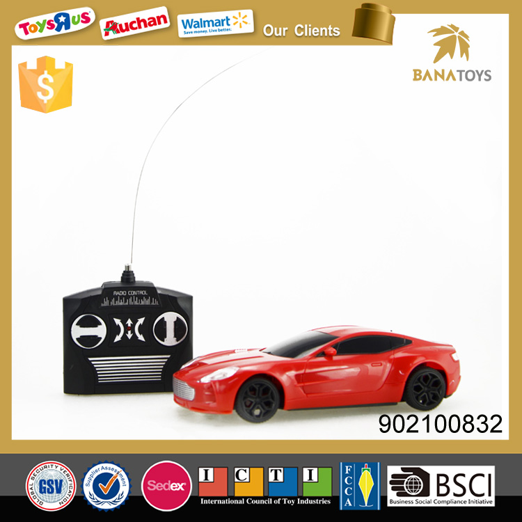 4 channel rc racing model radio control car