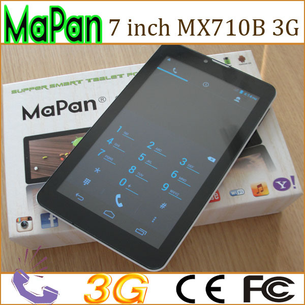 "7 "" Android Tablet PC 1.2 Ghz, 3G gsm phone calling function, WiFi, front and back camera"