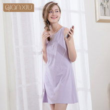 Best price custom Qianxiu comfortable women sexy night sleeping dress