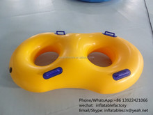 PK High quality PVC material inflatable water snow ski tube