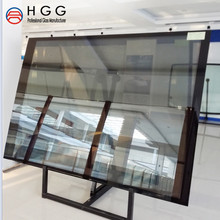 Most popular double insulated building glass glazing panels 5mm+5mm 6mm+6mm 8mmdouble 6A 9A 12A