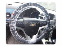 Disposable Plastic Steering Wheel Cover Clean Set