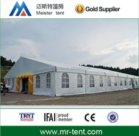 large capacity indoor wedding tent with transparent windows for 500 people