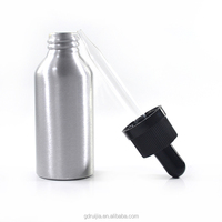 In stock empty e cig liquid childproof dropper 30ml aluminum bottles wholesale