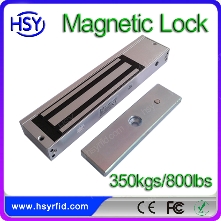 Security electromagnetic gate lock for glass door