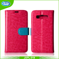 China Supplier PU Leather Bag Flip Case for Samsung