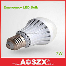 7Watt Rechargeable Battery back upE27 B22 Battery Powered Heat Lamp Emergency LED light bulb