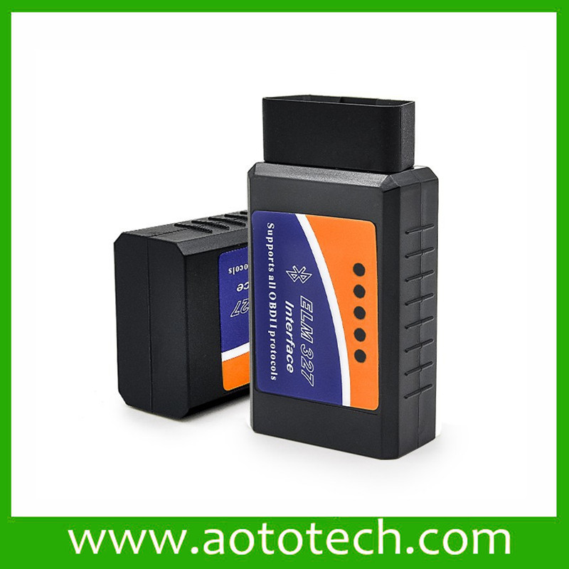ELM327 OBD2 Bluetooth V2.1 Interface Works On Android Torque Elm 327 Bluetooth OBD2/OBD II Car Diagnostic Scanner
