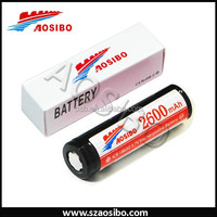 18650 li polymer battery 3.7v 2600mah/lithium ion battery 18650/battery charger 18650/shenzhen 18650 lipo battery