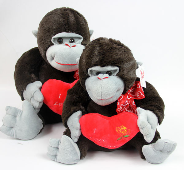 new arrival 25cm stuffed plush toy gorillas chimpanzees