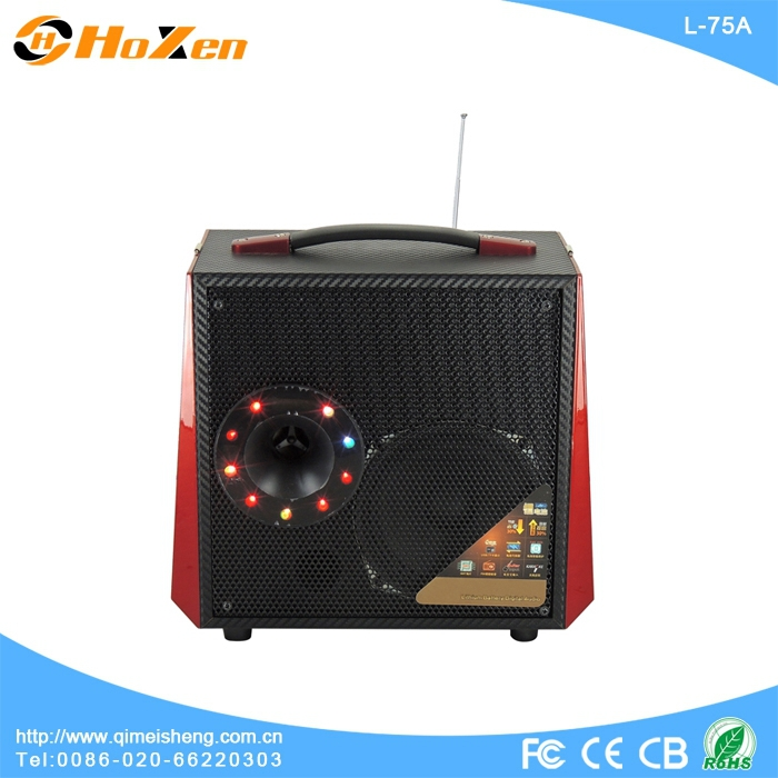 av mixer dancing led water speaker portable speaker power bank