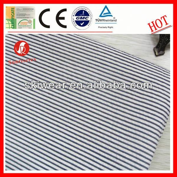 various breathable wicking shadow stripe fabric