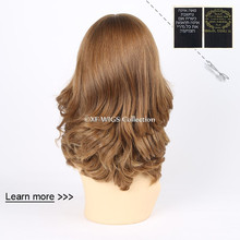 top quality wholesale 4*4 size lace front wig 100% virgin European hair jewish wig kosher wigs