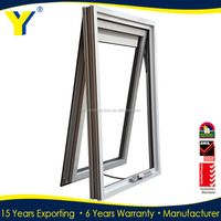 Used Commercial Glass Ventilation Windows window design In China YY construction
