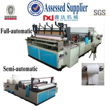 Automatic industrial roll toilet tissue machine/rewinder embossed roll toilet tissue machine