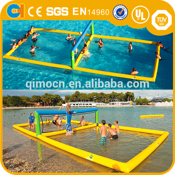 Customzied Inflatable Water Volleyball Court,Funny Inflatable Beach Volleyball Court,Cool inflatable volleyball court for sale