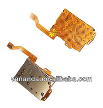 slot holder ribbon FPC sim card reader flex cable for nokia c7 replacement parts repair accessory motherboard circuit board