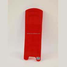 Red OEM ODM Convenient Portable Travel mini scrubboard Plastic washboard