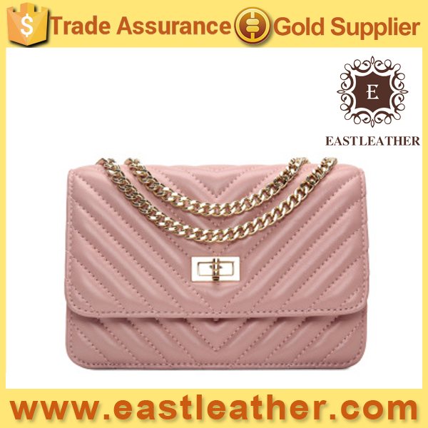 GL843 chain deisgner with STRIPE ladies handbags factories in china