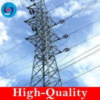 66KV transmission steel tower steel lattice tower