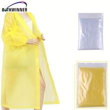 Disposable poncho Qtsh0t rain poncho coat for adult and children for sale