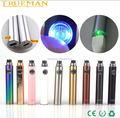 Multi Color E Cig Battery Top Selling EVOD Passthrough HAHA battery with Micro USB cable