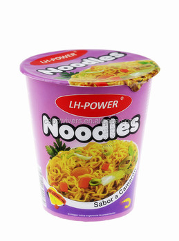 Linghang Foods 65g cup instant noodle