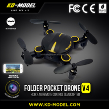 wholesale cheap HD wifi camera folable pocket drone