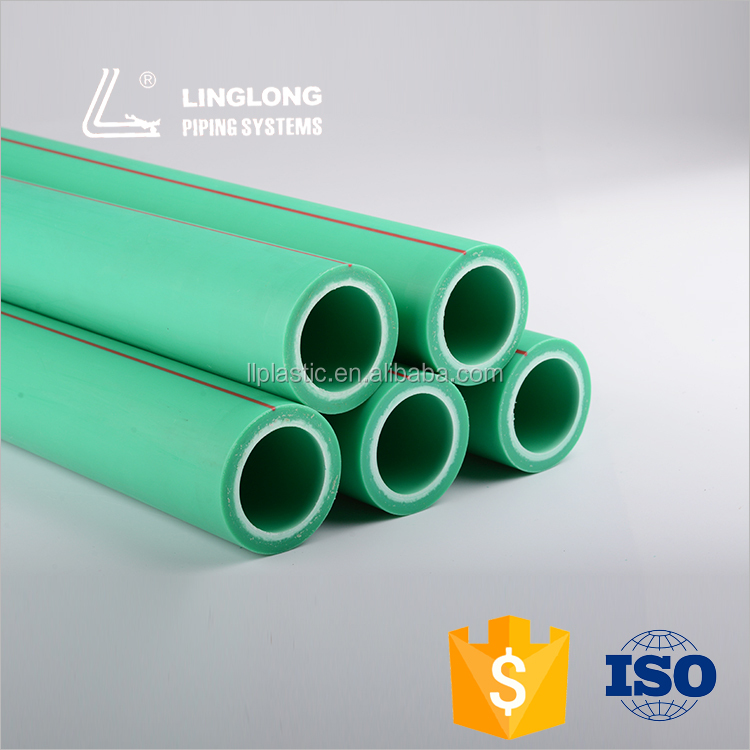 Germany standard raw material ppr pipe for hot water