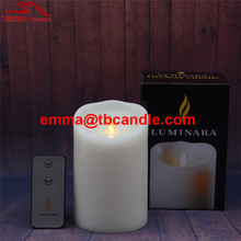 Cheap Pillar Candles Wholesale/Flameless moving wick led tall pillar candle