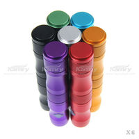 kamry patent colored 1300mah x6 variable voltage vv mod e-cigarette