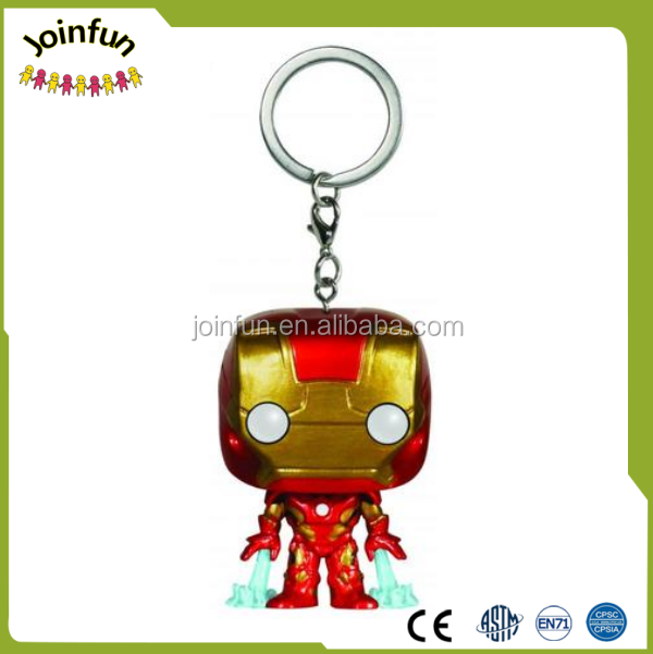 soft pvc keychain,hot movie Super Heroes plastic keychain,Customize Super hero 3D key chain